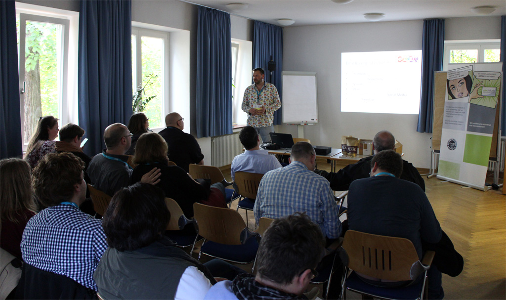 Sweetup-Session auf der webcon2013